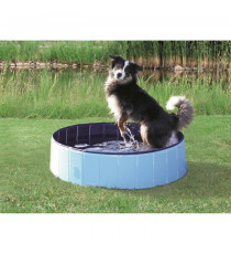 TRIXIE Piscine 120x30cm - Bleu clair et bleu - Pour chien