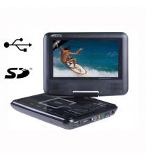 Takara VR122B Lecteur DVD portable Noir