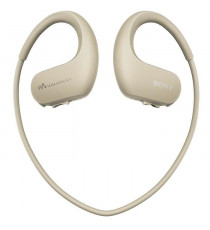SONY NW-WS413 Lecteur MP3 - Casque sport 4 Go Creme