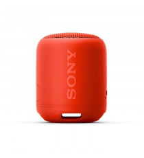 Sony SRSXB12R.CE7 Enceinte portable - Bluetooth - Extra Bass - Waterproof - 16h d'autonomie - Rouge