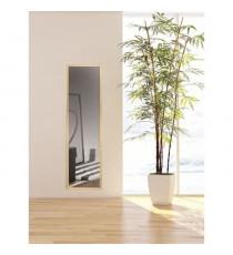 Miroir 30x120 décor bois cérusé