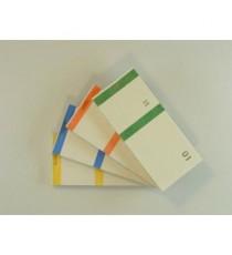 4 Bloc-Notes - 6 cm x 13,5 cm x 3,5 cm