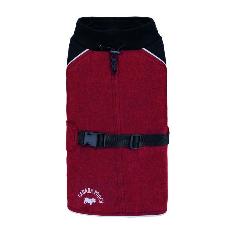 CANADA-POOCH-Manteau-The-Expedition-Coat-20-15-18-kg-Rouge-Pour-chien