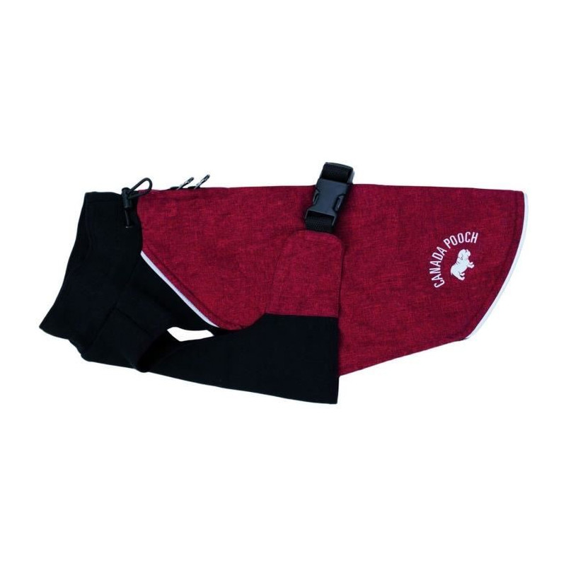 CANADA-POOCH-Manteau-The-Expedition-Coat-20-15-18-kg-Rouge-Pour-chien miniature 2