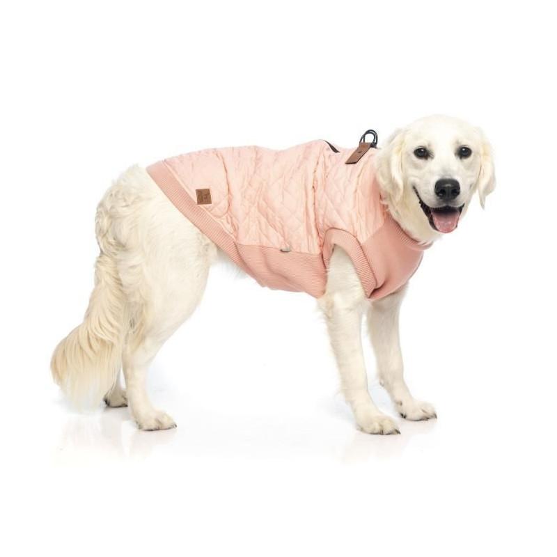 FUZZYARD-Blouson-Harnais-MacGyver-59-62-cm-Rose-clair-Pour-chien miniature 3