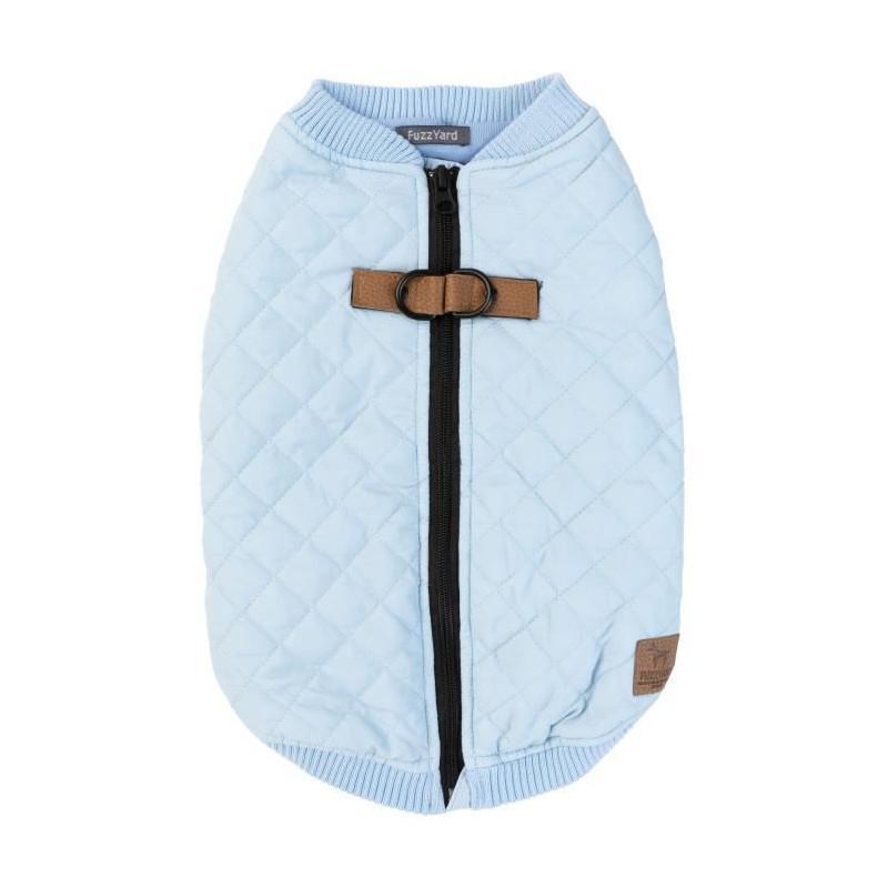 FUZZYARD-Blouson-Harnais-MacGyver-35-38-5-cm-Bleu-clair-Pour-chien