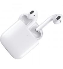APPLE Écouteurs AirPods 2 avec étui de charge sans fil