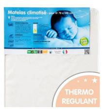 BABYCALIN Matelas lit 20kg/m3 - climatise - 70x140x12cm