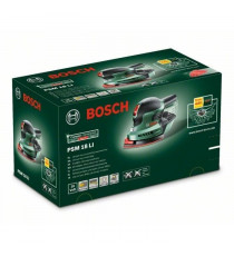 BOSCH Ponceuse multifonctions PSM 18Li 18V Lithium