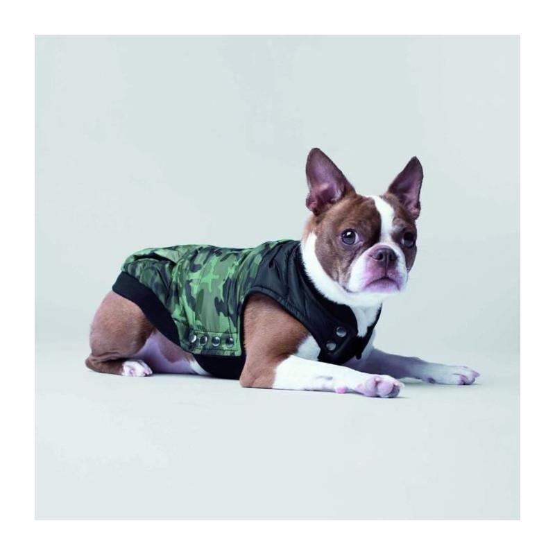CANADA-POOCH-Manteau-Summit-Stretch-12-4-6kg-Vert-Pour-chien miniature 2