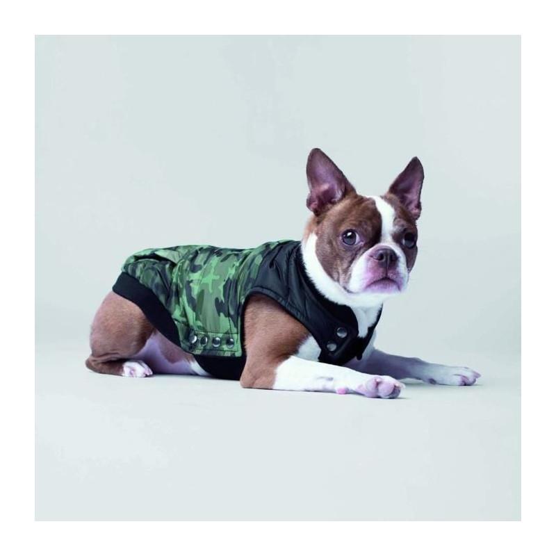 CANADA-POOCH-Manteau-Summit-Stretch-14-6-8kg-Vert-Pour-chien miniature 2