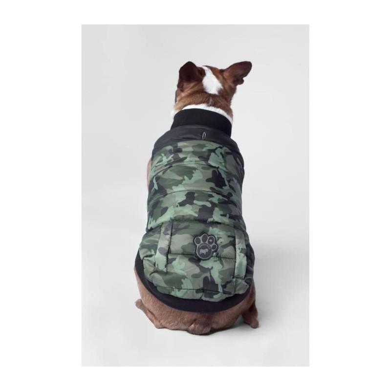 CANADA-POOCH-Manteau-Summit-Stretch-14-6-8kg-Vert-Pour-chien miniature 3