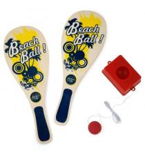 SPORT AND FUN Set 2 raquettes + 1 balle + 1 base Lesté Joka Fun