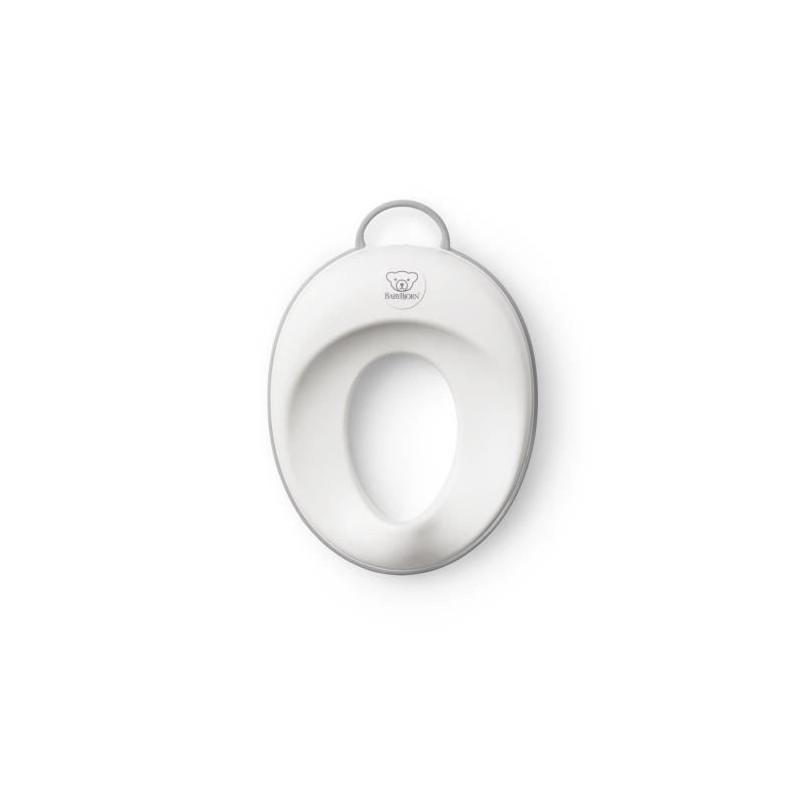 BABYBJORN-Reducteur-de-Toilette-Blanc-Gris