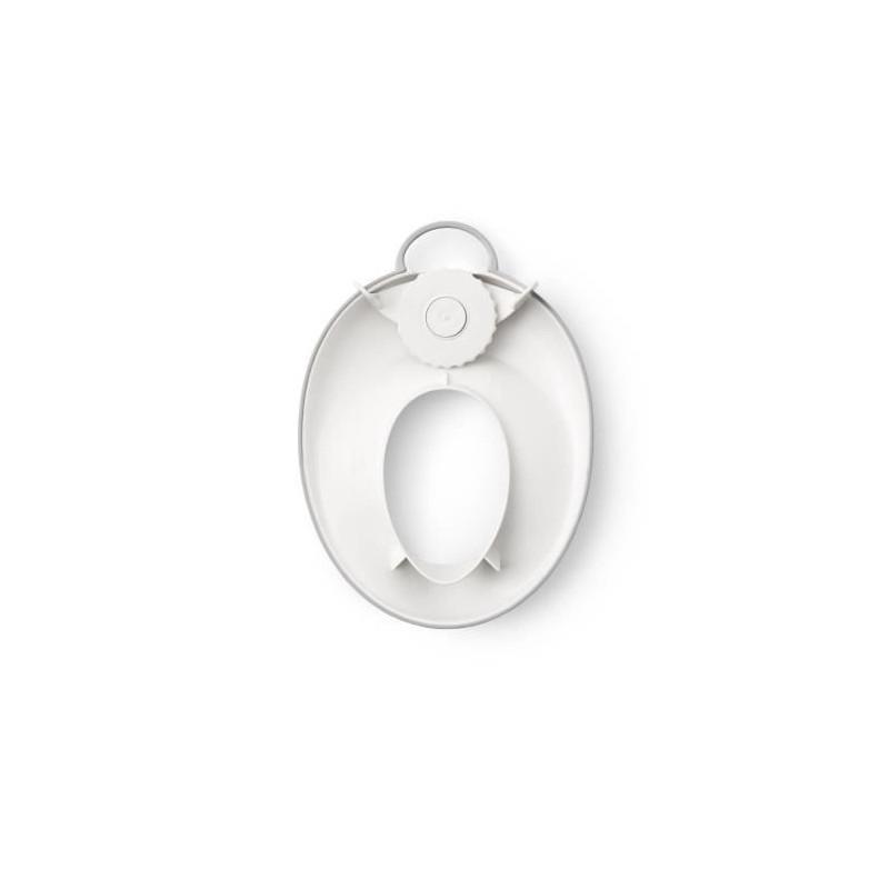BABYBJORN-Reducteur-de-Toilette-Blanc-Gris miniature 2