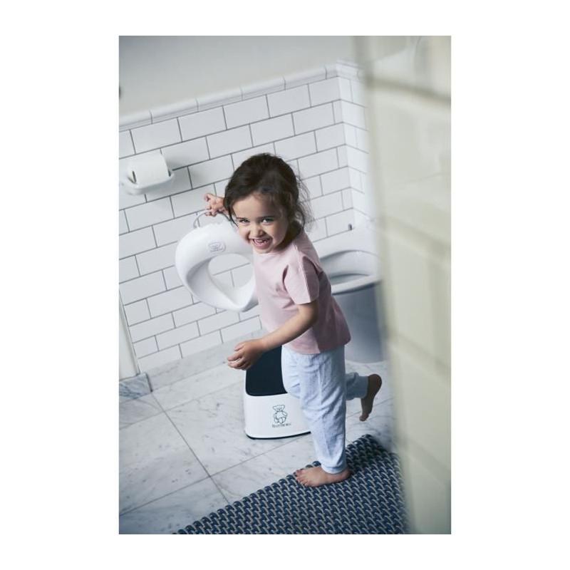 BABYBJORN-Reducteur-de-Toilette-Blanc-Gris miniature 3