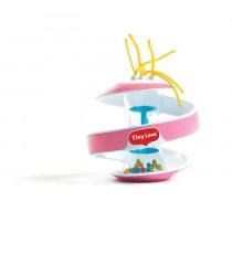 TINY LOVE jouet spiral rainstick rose