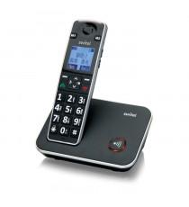 SWITEL 7000 Téléphone sénior sans fil avec touche SOS, amplifié, avec touches et écran XL - Standard DECT / compatible GAP