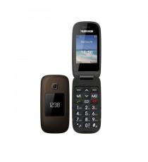 TELEFUNKEN Téléphone senior grosses touches TM 260COSI - Touche SOS - Clapet 2 écrans