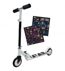 Trottinette enfant 2 roues Personnalisable avec stickers fille ou garçon