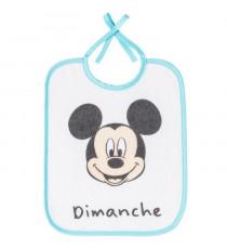 MICKEY Lot de 7 bavoirs naissance - 20x25 cm - Disney Baby