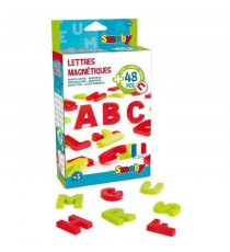 SMOBY 48 Lettres Magnetiques Majuscules