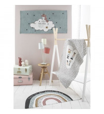 TODAY Tapis Coton Happy Place - 60 x 120 cm