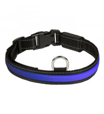 EYENIMAL RGB Collier lumineux - Taille M - Pour chien