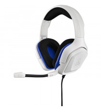 THE G-LAB Korp Cobalt Casque Gaming Compatible PC, PS4, Xbox One - Blanc