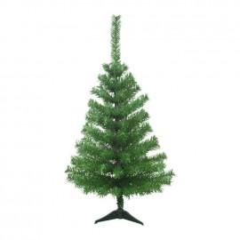 Sapin de Noël artificiel Canada 90 branches hauteur 90 cm vert