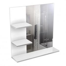 CORAIL Meuble miroir 60 cm - Blanc