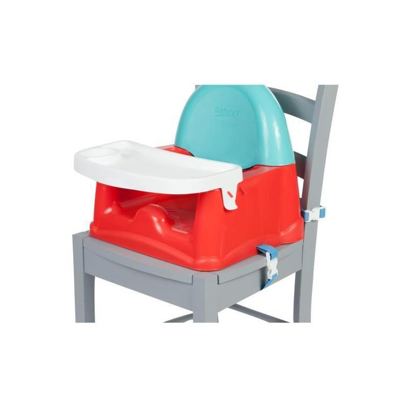 Safety 1st Rehausseur de Chaise Easy Care Booster Red Lines